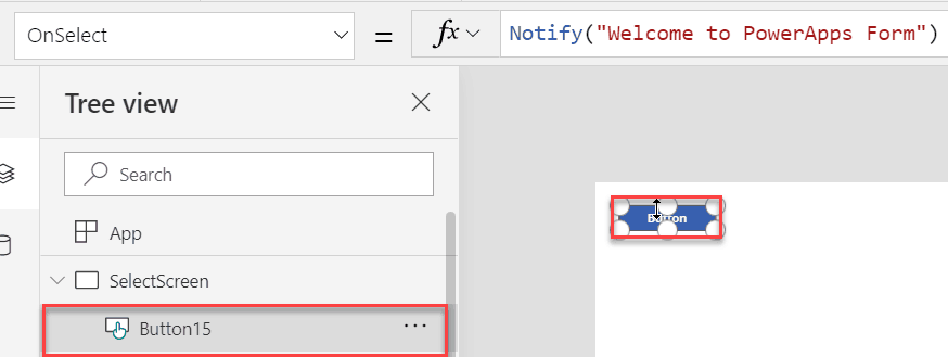 PowerApps Select() Function