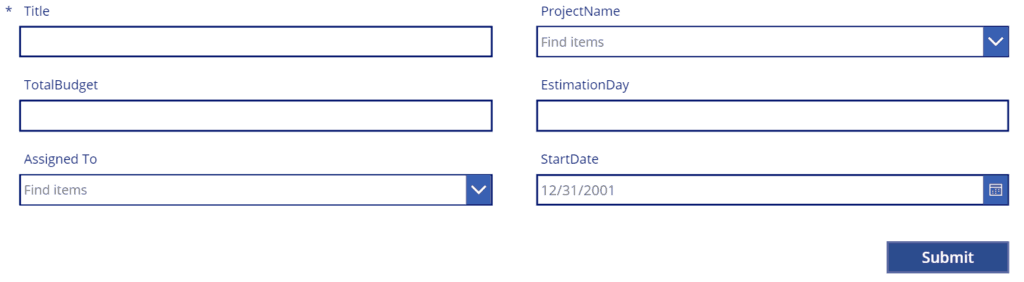 getting your data error powerapps