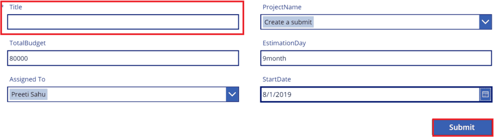 powerapps getting your data error