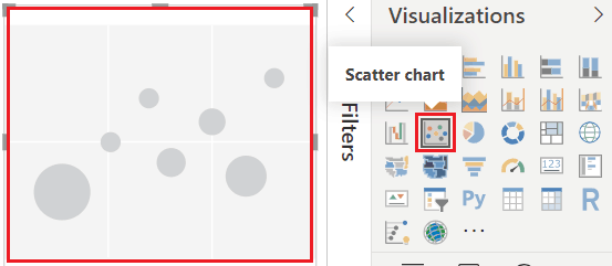 scatter chart power bi
