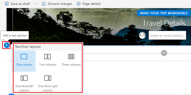 sharepoint online modern pages