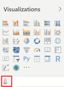 Power BI Import a Custom Visual from market place