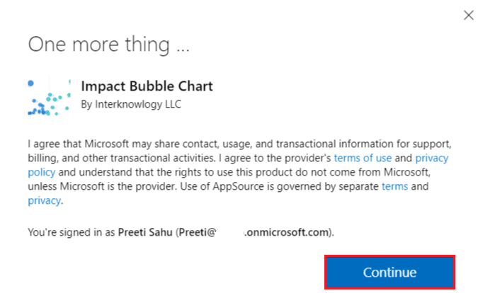 Import and download Custom Visuals from Microsoft AppSource