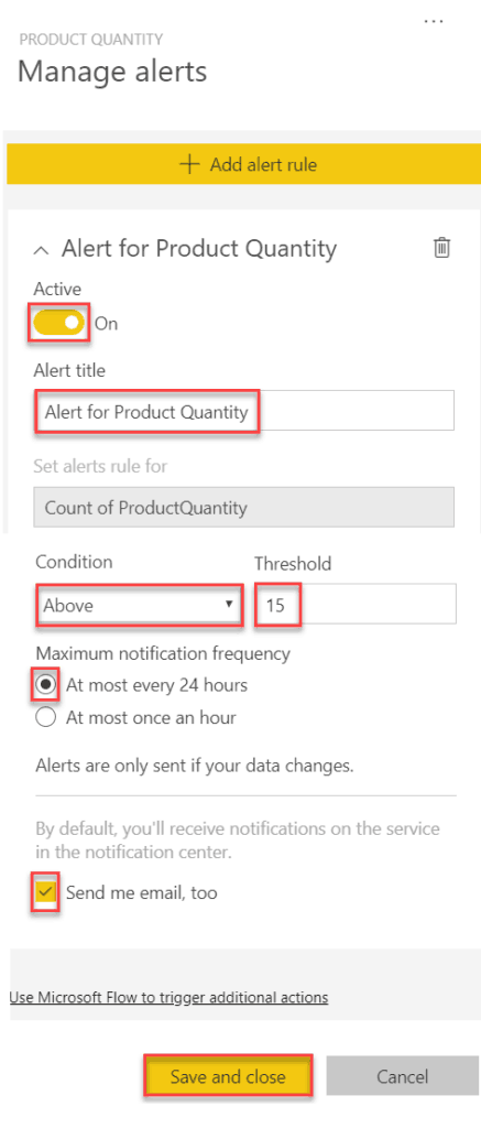 alerts in power bi desktop