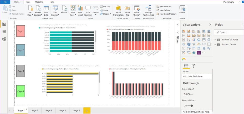 export to pdf in power bi desktop