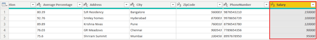 how to change data type of column in power bi