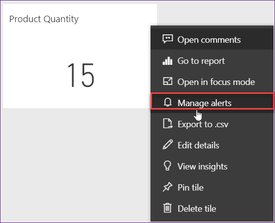 power bi alerts and notifications