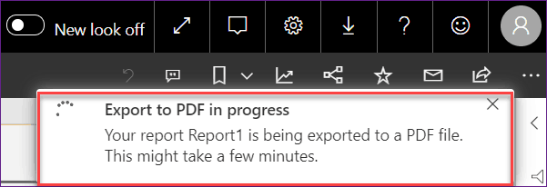 power bi automated export to pdf