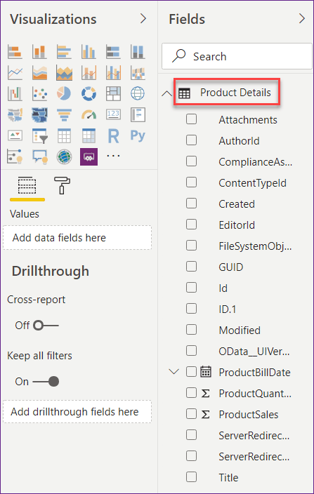 data labels in power bi