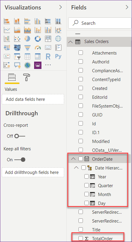 power bi subtract columns from different tables