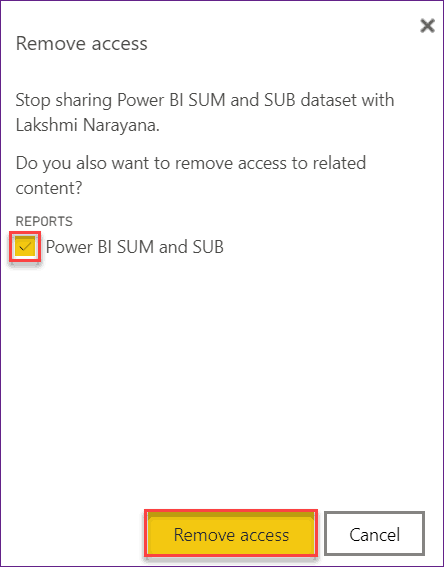 Power BI build permissions for shared datasets