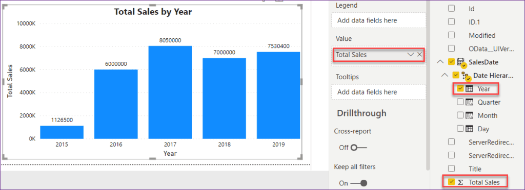 group by month and year power bi