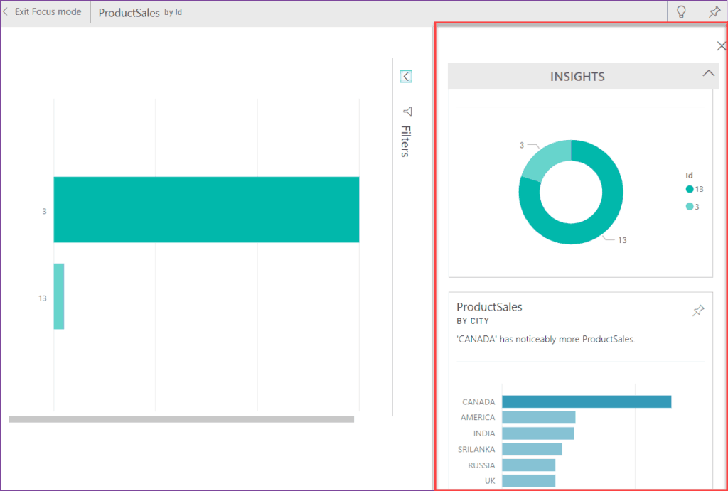 how to get quick insights in power bi