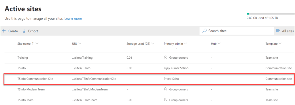create a communication site in sharepoint online powershell