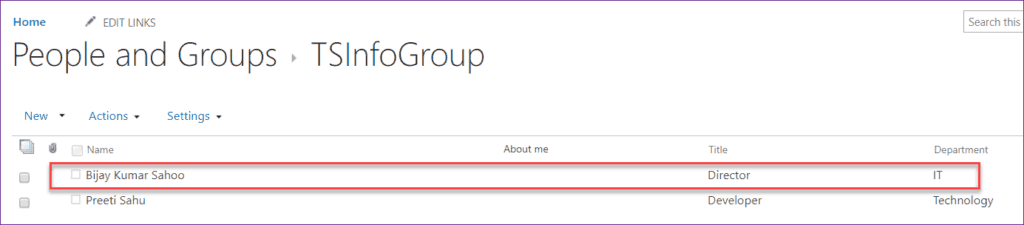 Add Users to SharePoint Group Using PnP PowerShell