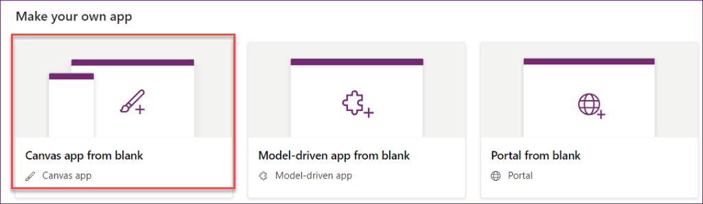 Create Canvas app from SharePoint List in PowerApps
