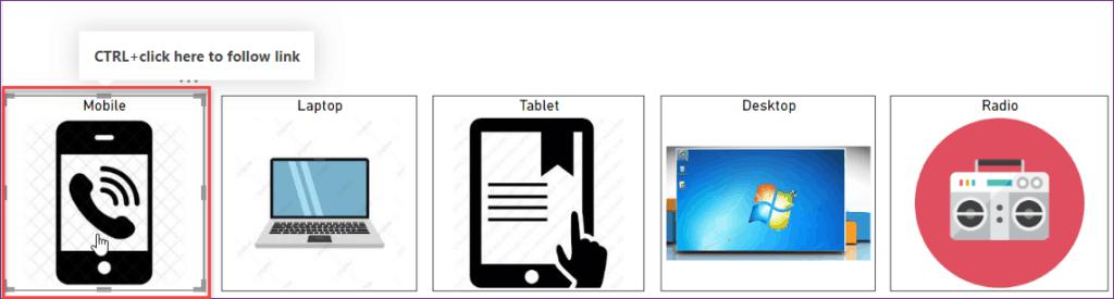 Power BI Bookmark button