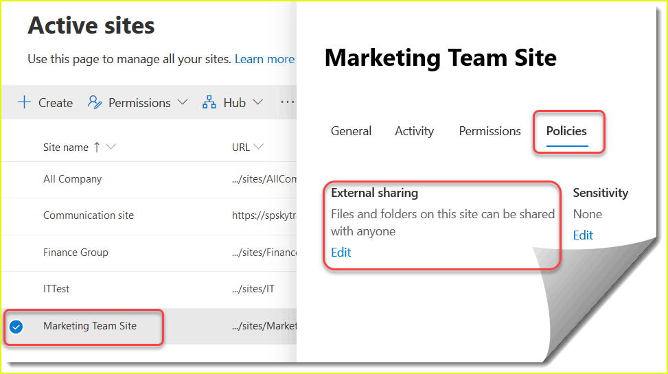 SharePoint online external sharing tutorial