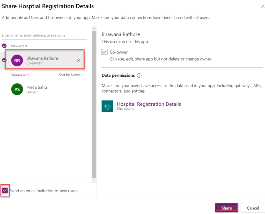 create powerapps using SharePoint Online List