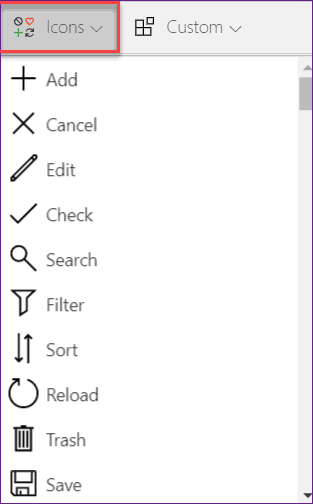 display form item powerapps