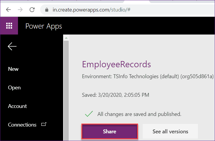 how to share powerapps with guest user