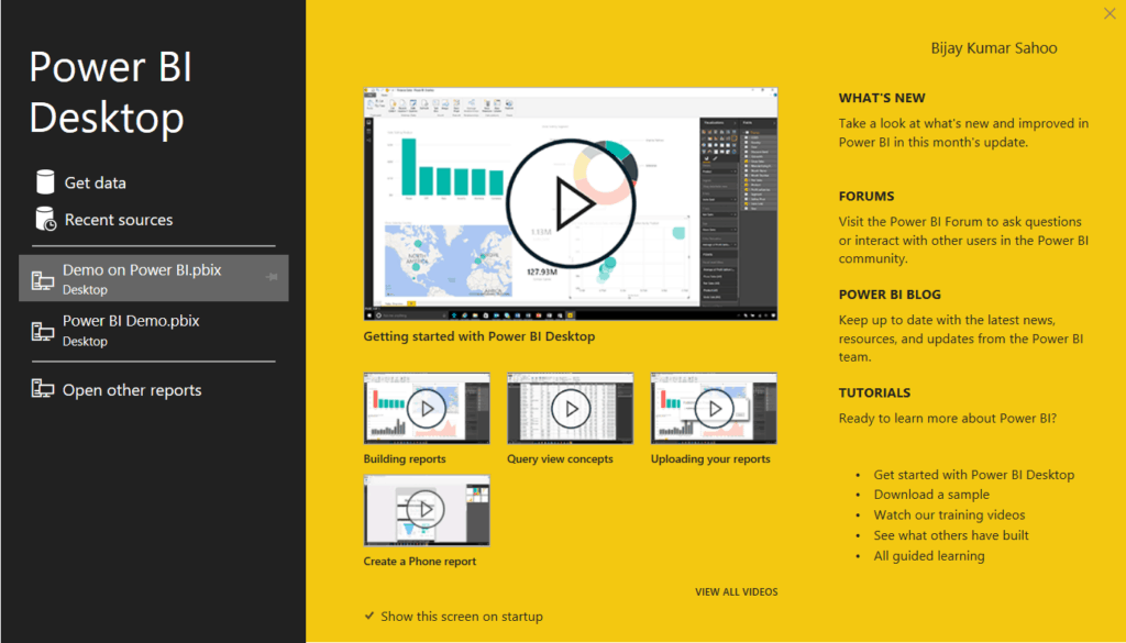 power bi desktop installation steps
