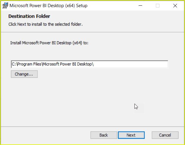 power bi desktop latest version