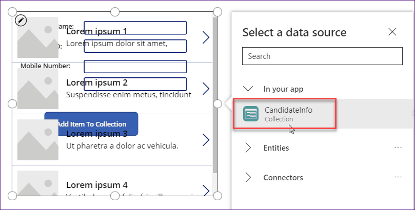 How to remove an item from the PowerApps collection
