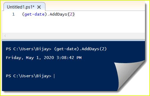 PowerShell get-date adddays