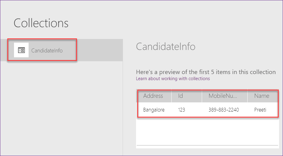 add records to PowerApps Collection
