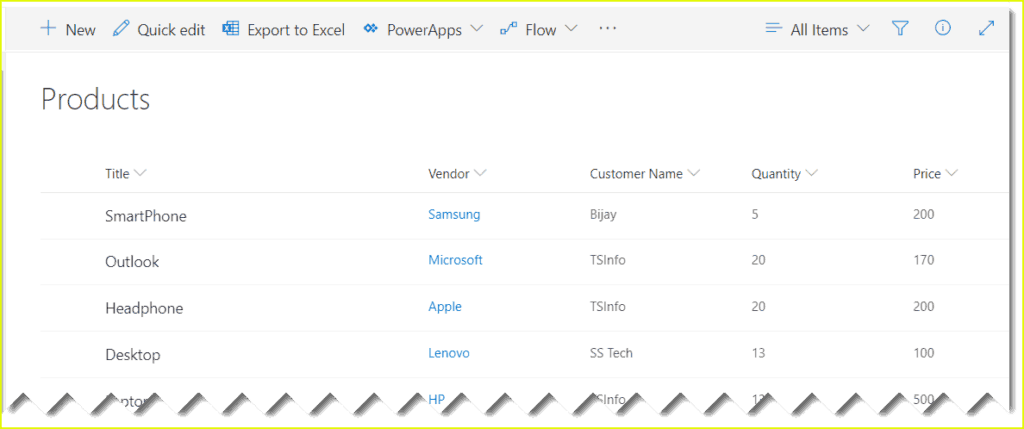 create power bi report from sharepoint online list