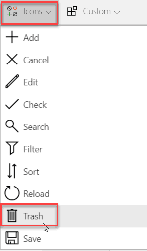 remove item from the PowerApps collection