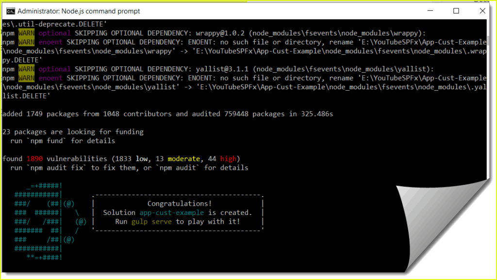 sharepoint framework extensions application customizer