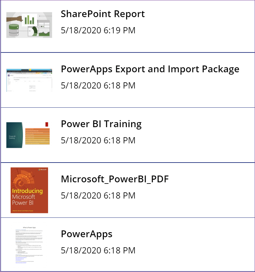 Display Image from a SharePoint Document Library in powerapps