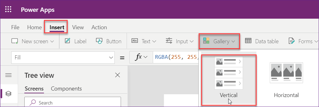 powerapps display image from sharepoint list