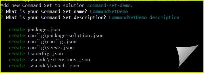 SPFx listview command set