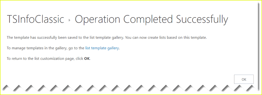 Save list as template in SharePoint 2013