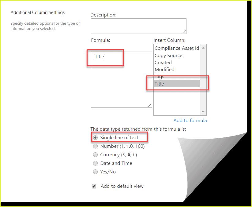 SharePoint document library Add thumbnail column