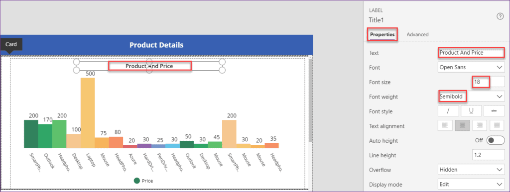Use a scrollable screen using powerapps