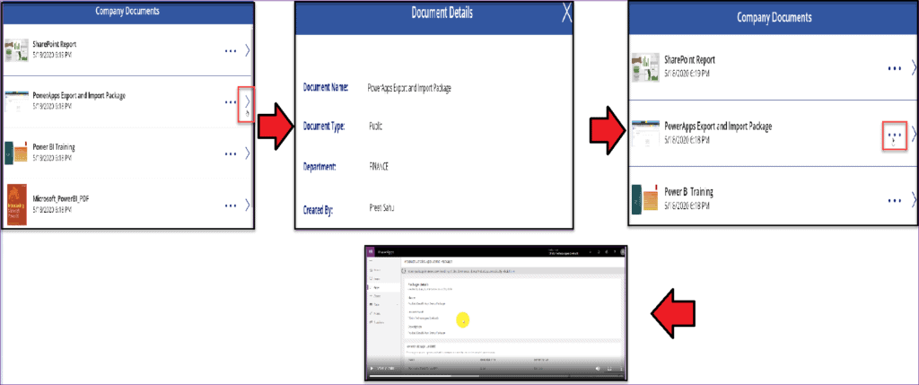 Use display form in Power Apps