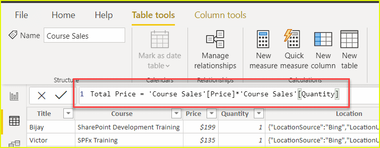 power bi dax tutorial