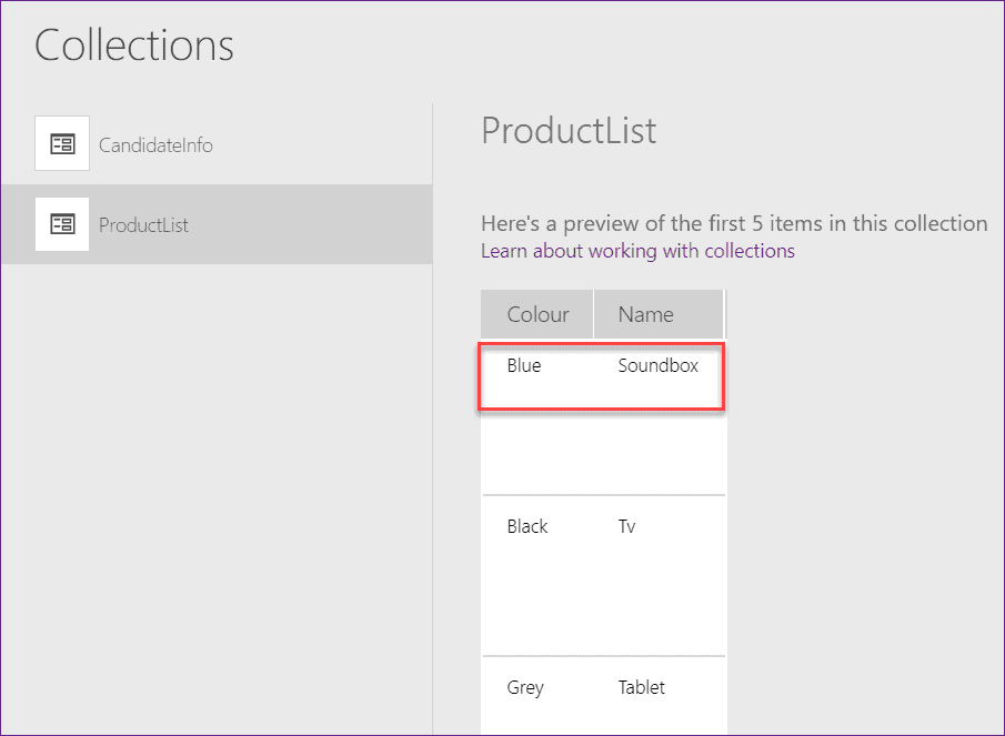 powerapps patch function to update record