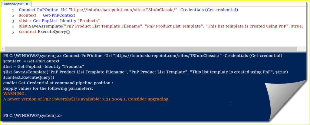 sharepoint online save list as template