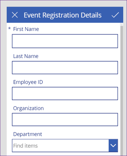 validation in powerapps