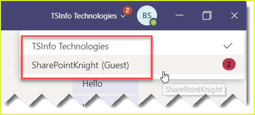 How to leave an organization as a guest user in Microsoft Teams