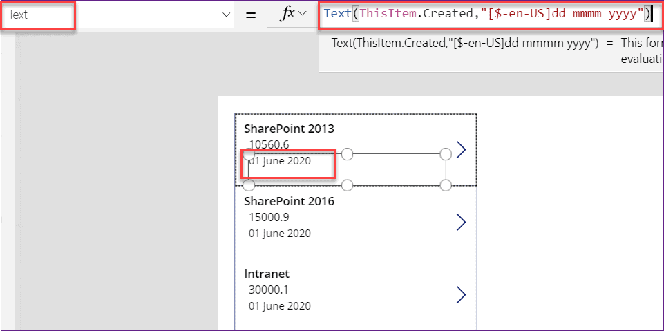PowerApps Convert Date to Number