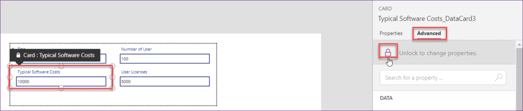 format number as currency in Powerapps