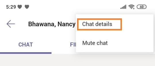 microsoft teams app create a group chat