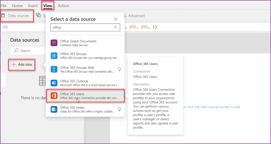 Create an Employee Directory in PowerApps
