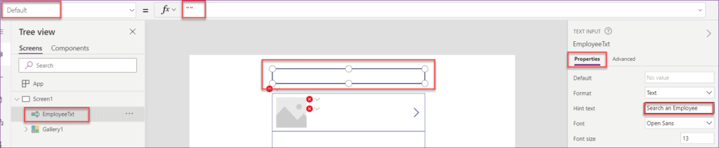 employee directory powerapps